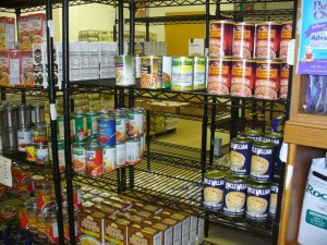 Help fill these shelves at the Starke County Food Pantry!