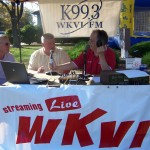 Greg Rudd and Jeff Cambe from the Cambe dealership talked with Tom Berg about the 2012 Chevy Volt that was on display at WKVI