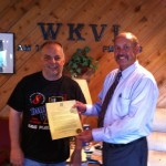 Mayor Rick Chambers presented Tom with a proclamation declaring Tuesday, July 17 as Tom Berg Day.