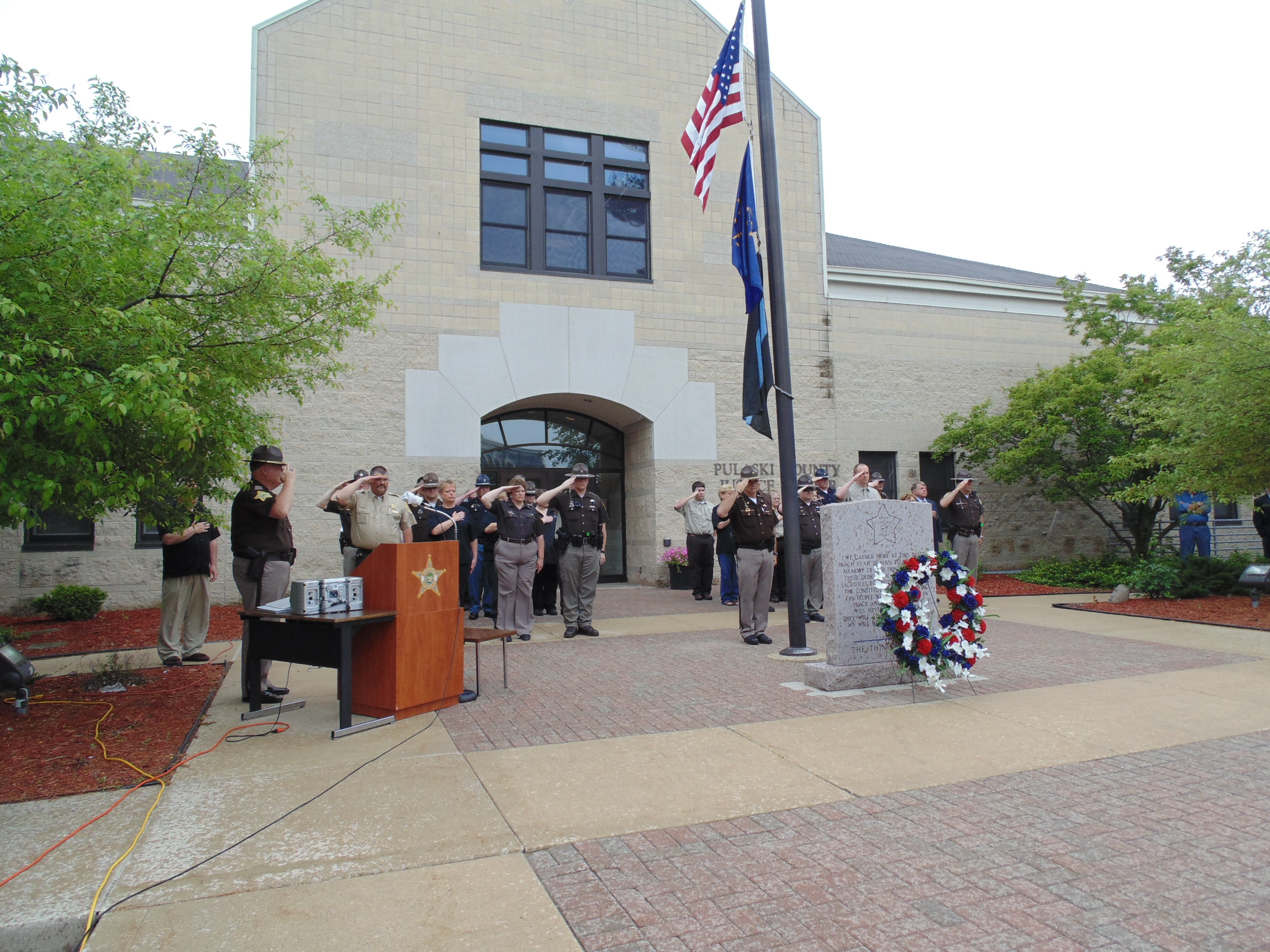 Indiana pulaski county francesville - A Memorial Service Was Held Tuesday Afternoon At The Pulaski County Justice Center To Remember The Lives Of Three Officers Who Were Killed In The Line Of