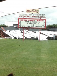 Melody Drive In damage