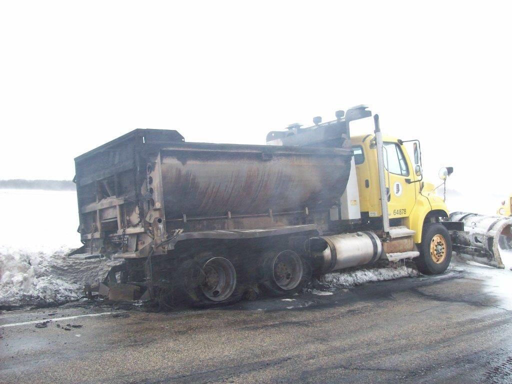 Indiana pulaski county francesville - This Indot Plow Truck Was Destroyed By Fire Saturday Morning On Sr 39 North In Pulaski County