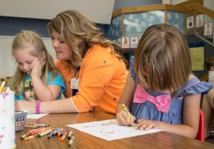 Kids learned several important skills prior during the Kindergarten Countdown
