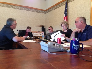 Jeff Johnston talks to the Pulaski County Commissioners