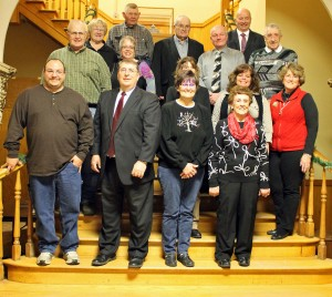 Pulaski County's newest elected officials are ready to begin their duties on Jan. 1, 2015 after being sworn in by Judges Pat Blankenship and Michael Shurn during a Monday afternoon ceremony at the courthouse.