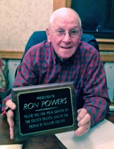 Retiring Pulaski County Councilman Ron Powers
