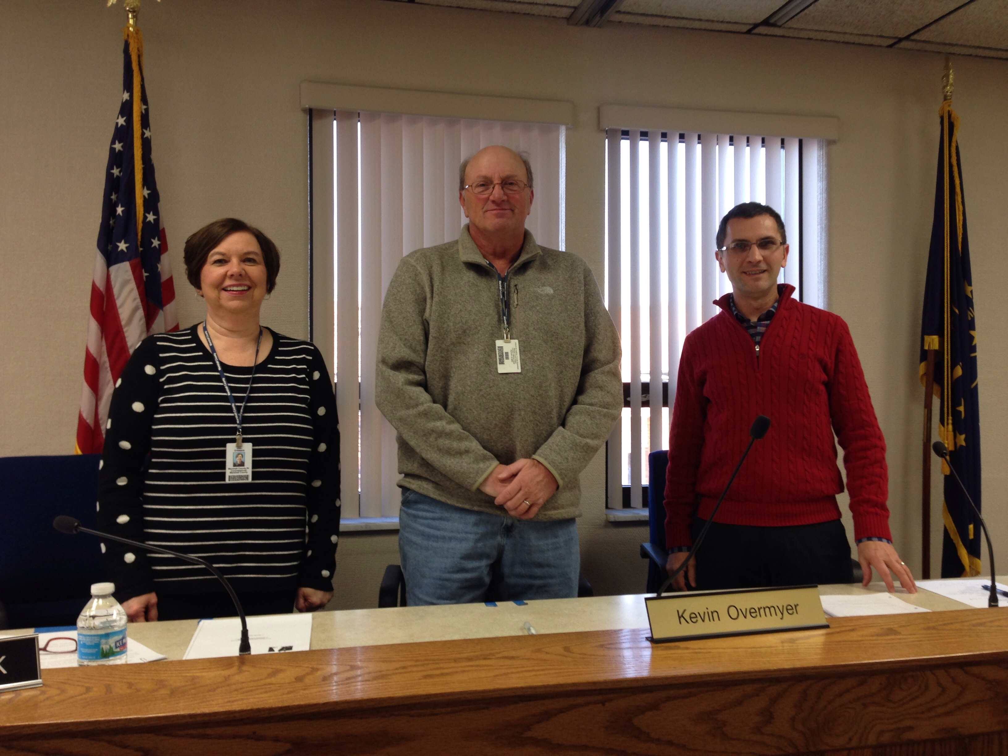 Indiana marshall county tippecanoe - Marshall County Commissioners L To R Deb Griewank Kevin Overmyer And Kurt Garner