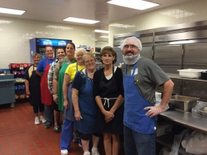 The N.J.-S.P. cafeteria staff was wonderful. Thank you!