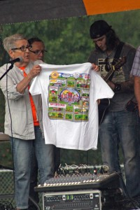 These shirts were among the prizes awarded to Healthy Challenge Series participants