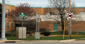 """The Knox Street Department recently posted """"no trucks"""" signs at the intersection of South Heaton Street and West Culver Road."""