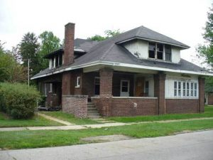 Marsh Manor on Main Street in Knox was recently torn down with money from the blight elimination grant program.